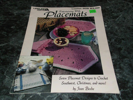 Entertaining with Placemats Leisure Arts Leaflet 908 Crochet - $2.99