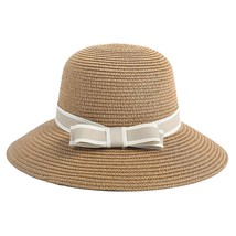 SAGACE hat Women Fashion Floppy Foldable Ladies Women Straw Beach Sun Su... - $14.64