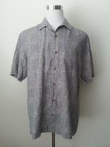 Tommy Bahama Men Size M Hawaiian Short Sleeve Shirt 100% Silk Grillin' Out NWT - $72.75
