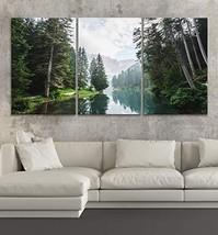 """BoxColors LARGE 30""""x 60"""" 3 panels 30x20 Ea Art Canvas Print landscape La... - $109.00"""