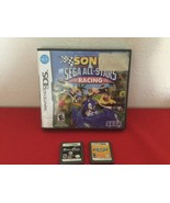 Nintendo DS 3 games Mario Party DS Sonic Sega All-stars Racing Prince of... - $45.00