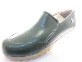 Sperry Top Sider women's Slip On Rain Boots Dark Green Size 5 - $34.64