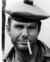 Cliff Robertson 8x10 Photo tough guy pose with cigarette Too Late The Hero - $7.99