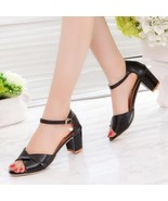 New 2018 Sandals High Heel Sandals Women Ankle - $37.85+