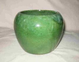 "Neat Vintage 6"" X 5"" Green California USA Pottery Vase - $56.90"