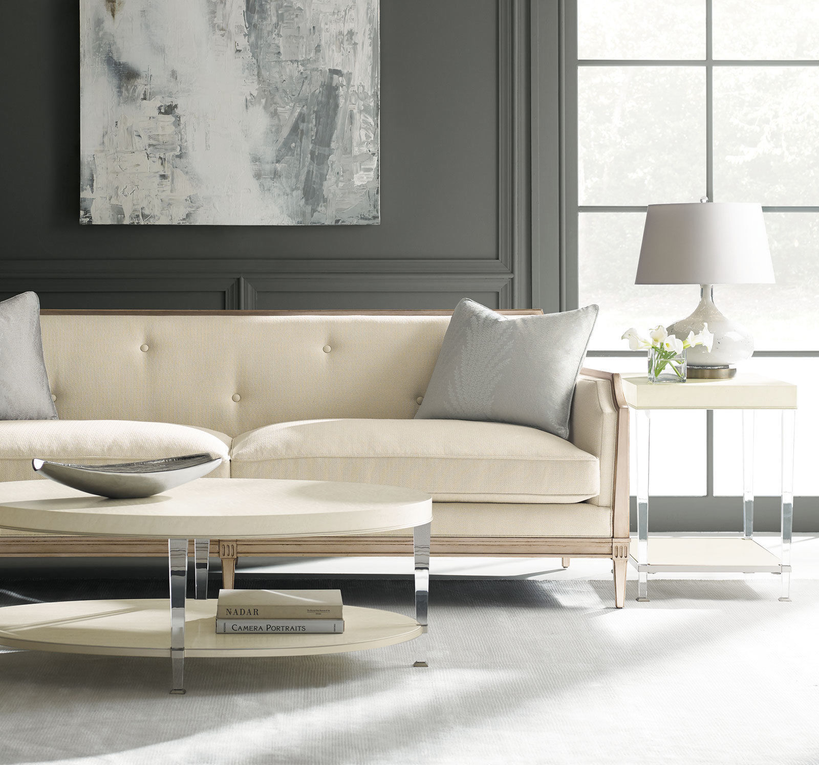 Traditional Fabric Sofa Sets: Traditional Design Living Room Set