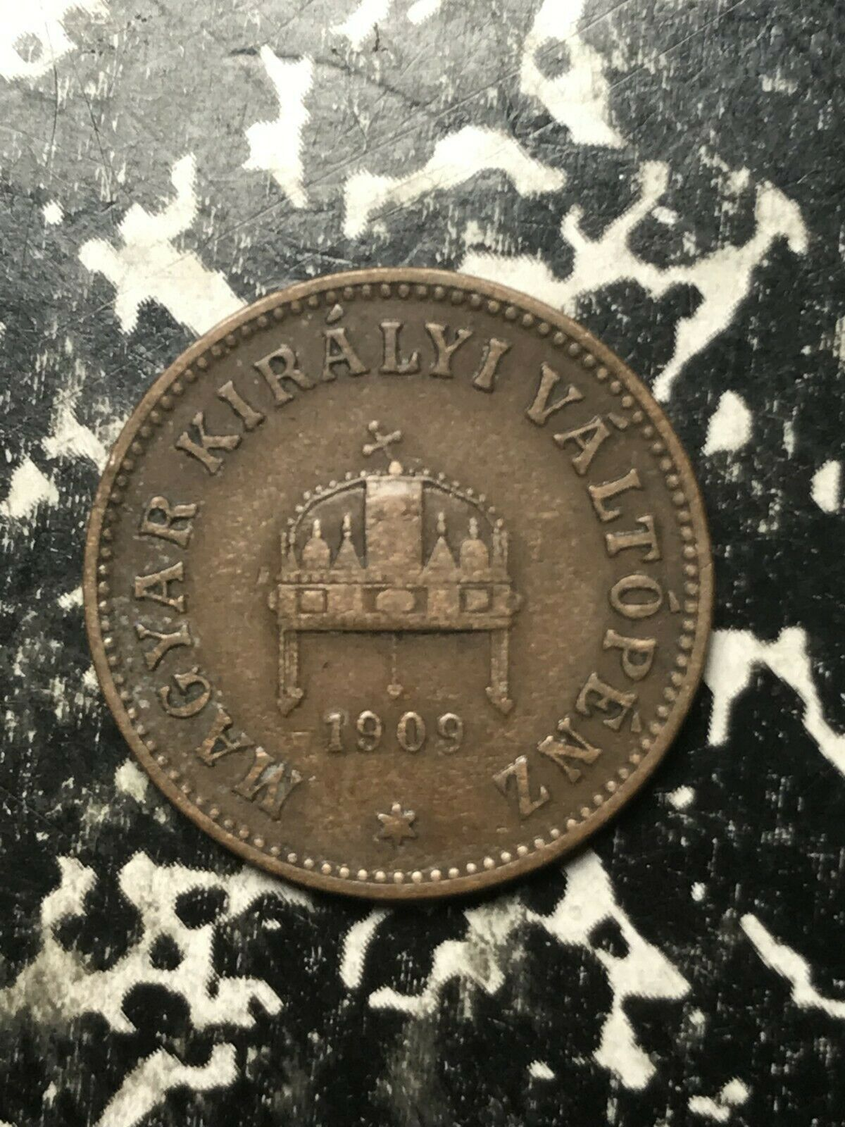 8 Available 1 Coin Only 1894 Hungary 2 Filler Circulated