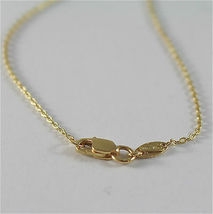 18K YELLO GOLD NECKLACE WITH ROUND WHITE 6 7 mm FRESHWATER PEARLS MADE IN ITALY  image 5