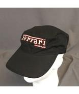 Ferrari  Gear Strap Back Hat Cadet Painters Black Cap Adjustable - $23.17