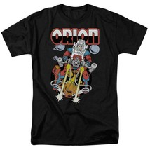 Orion t shirt retro dc comics villians superman superfriends black cotton dco324 thumb200