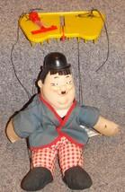 Vintage 1966 Knickerbocker Laurel & Hardy Oliver Hardy Marionette Puppet - $349.99