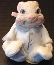 Vintage Dreamsicles Cast Art Bunny Figurine Easter Decoration - $9.89