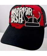 Reebok Warrior Dash Truckers Hat Mesh Sides Adjustable Snapback Hat Black - $24.74