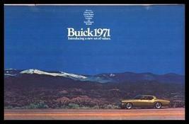 1971 Buick Prestige Brochure Riviera GS Electra LeSabre - $13.44