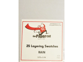 Layering Swatches,  Cardstock, 3.75 x 5 inches, 25 Pieces by the Paper Cut image 3