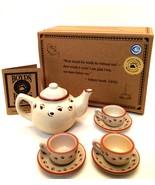 Boyds Collection Brewin F.o.B. Official Mini Tea Set Membership Gift Bea... - $18.80