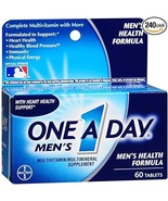 One-A-Day Men's Health Formula Tablets 60 ea (Pack of 4) - $29.99
