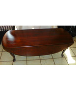 Solid Cherry Dropleaf Coffee Table by Ethan Allen  (CT126) - $499.00
