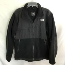 The North Face Men's Denali Fleece Jacket Black Size Large Coat - $39.99