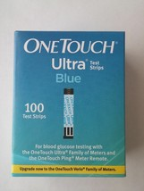 OneTouch One Touch ultra blue 100 test strips exp. 06/30/19 NEW in box Sealed - $59.40