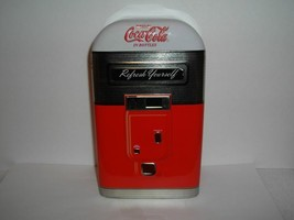 V Tg Drink Coca Cola Tin~Bottle Dispenser~Double DOOR~A1 - $14.80