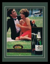1986 Korbel Champagne Framed 11x14 ORIGINAL Vintage Advertisement - $32.36
