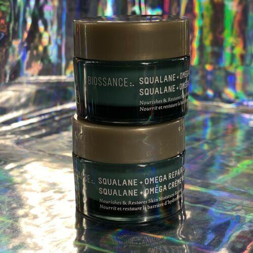 Biossance Squalane Omega Repair Cream 15mL Deluxe Travel