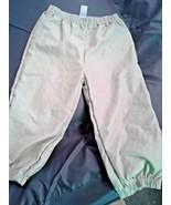 "Disney Store-Kids-Size:13-Elastic Waist/Cuff-Tan-Pants-Waist:22-->30""-In... - $7.19"
