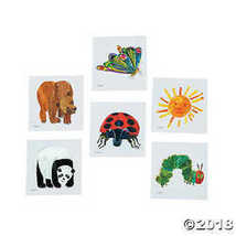 The World of Eric Carle Temporary Tattoo Assortment  - $10.87