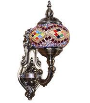 Turkish Mosaic LAMP LIGHTING  Vintage Desk Lamp... - $59.39