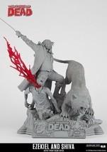 Walking Dead Ezekiel and Shiva Artist Proof Statue. SALE PRICE - $225.00