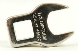 "Craftsman 43622 1/2"" Crowfoot Wrench 3/8"" Drive USA - $2.97"