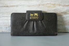 Vintage Large Leather Wallet, by COACH Inc.,Horse + Carriage Logo, Great... - $75.90