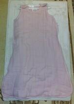 Aden + Anais MULTI-LAYER Sleeping Bag Wearable Blanket Rose Pink 0-6M Baby - $35.99