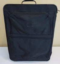 "Tumi Made In USA Black 24"" 2281D3 Upright Wheeled Luggage Suitcase Expan... - $118.79"