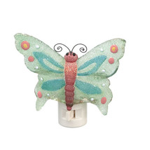 Blue Butterfly Night Light - New in Box - $9.95