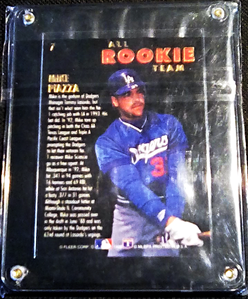 1993 Fleer Ultra Mike Piazza All Rookie Team And 50 Similar