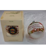 Hallmark Keepsake Ornaments ~ Mother 1981 & 1982 Round Ball - $10.44
