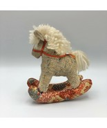 """Handmade Rocking Horse Soft Toy 6"""" Toys For Little Hands - $11.87"""
