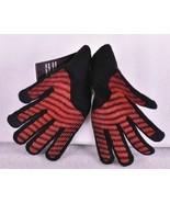 NEW Youth Boy's Nike Knitted Tech Grip Gloves, Black / Red, Small / Medium - $14.70
