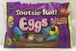 Tootsie Roll Eggs NEW! Candy Coated, Egg Shaped Tootsie Rolls (Four 3.5oz Bags) - $21.73
