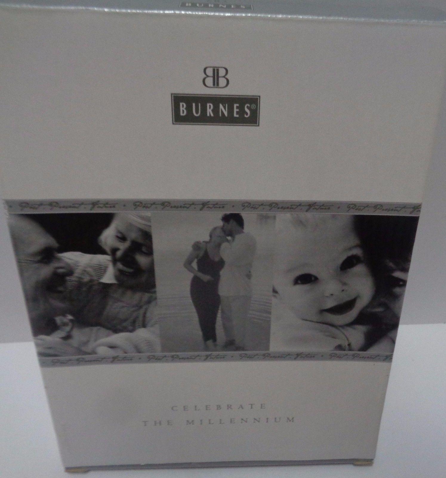 Baby Photo Frame Millennium Year 2000 Burnes of Boston NIB
