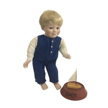 "Ashton-Drake ""Look, Mommy...It Floats"" Mikey Porcelain Doll 1992 #10986 ... - $24.74"