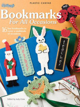 Bookmarks for All Occasions Plastic Canvas Patterns NEW Easter Christmas School - $5.93