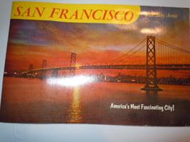 Vintage San Francisco and Bay Area Souvenir Book 1960's - $6.99