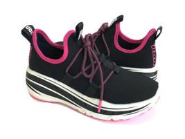 Ugg Lace Runner Black Pink Knit Platform Sneaker Shoes Us 11 / Eu 42 / Uk 9 - $111.27
