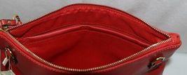 Handbag Republic Brand HG0024 Red Vegan Womens Purse With Large Tassel Detail image 5