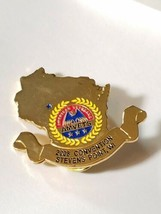 WISCONSIN AMVETS 2008 STEVENS POINT STATE CONVENTION Lapel Pin