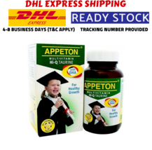 2 X APPETON MULTIVITAMIN Hi-Q TAURINE & DHA CHEWABLES 60's FREE EXPRESS ... - $59.99