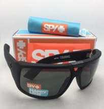 Nuevo Spy Optic Gafas de Sol Touring Suave Negro Mate Monturas Happy Gris-Verde - $124.80